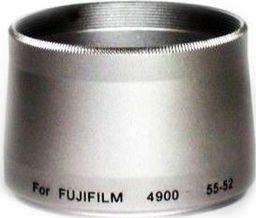 Massa Adapter Fuji 55>52 4900,6900,602 srebrna