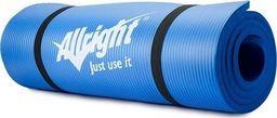 Allright Mata NBR Allright 140x60x1,5 cm niebieska uniwersalny