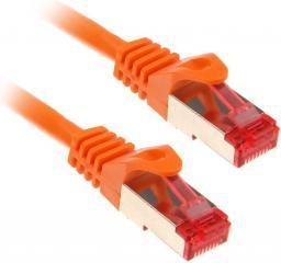 InLine 0.5m Cat.6 kabel sieciowy1000 Mbit RJ45 - pomarańczowy (76450O)