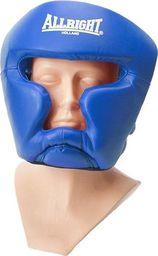 Allright Kask bokserski Sparingowy senior Niebieski uniwersalny