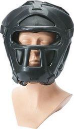 Allright Kask z kratką maską treningowy do walk Allright Senior czarny uniwersalny