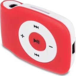 Odtwarzacz MP3 Setty MP3 Setty czerwony + słuchawki TFO