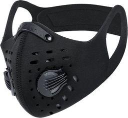 Maska antysmogowa FLEXYJOY FF850 z wymiennym filtrem PM 2.5 czarna