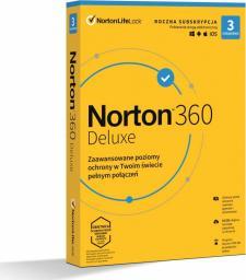 NORTON 360 DELUXE 25GB PL 1U 3Dvc 1Y (21408734)