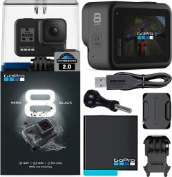Kamera GoPro Kamera GoPro HERO 8 BLACK + Zestaw Sports KIT