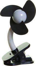 Dreambaby Bezpieczny wentylator na wózek - szary/czarny