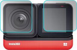 SunnyLife 4x Osłona Szkło na Ekran LCD do Insta360 ONE R 4K Edition