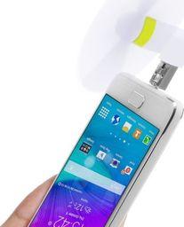 Wentylator USB Haweel Wiatrak / Wiatraczek / Wentylator - Rozwiane Włosy do Zdjęć SELFIE do Telefonu / Tabletu na MicroUSB / USB