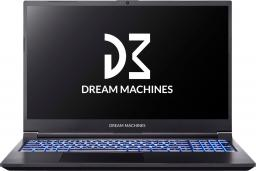 Laptop Dream Machines G1650 (G1650-15PL60) 8 GB RAM/ 1 TB M.2 PCIe/ Windows 10 Home