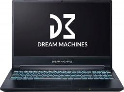 Laptop Dream Machines G1650Ti (G1650Ti-15PL50) 8 GB RAM/ 500 GB M.2 PCIe/ Windows 10 Home
