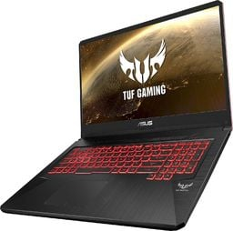"Laptop Asus Notebook Asus TUF Gaming FX705DY 17,3""FHD/Ryzen 5 3550H/8GB/SSD512GB/RX560-4GB/W10 Black"
