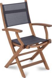 Fieldmann Krzesło ogrodowe składane z drewna FDZN 4201-T