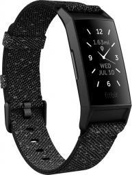 Smartband Fitbit FITBIT opaska Charge 4 (NFC), SE Black/Granite Reflective Woven
