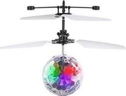 Dron KidsToys AG362D KULA LATAJĄCY SPODEK ŚWIECĄCY LED STEROWANY uniwersalny