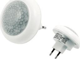 Lampka wtykowa do gniazdka ECpower ZD18 LAMPKA NOCNA LED Z CZUJNIKIEM RUCHU ZMIERZCHU uniwersalny