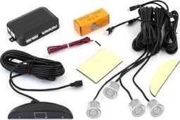 CGAuto AG22A CZUJNIK PARKOWANIA 4-PUNKTY LCD+AUDIO SILVER uniwersalny