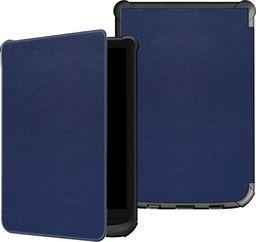 Pokrowiec Etui Smart Cover PocketBook Lux 4 627/616 - Navy uniwersalny