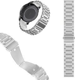 Pasek stalowy do Huawei Watch GT 2 46 - Silver uniwersalny
