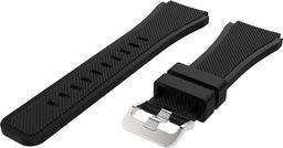 Pasek silikonowy do Huawei Watch GT 2 46 - Black uniwersalny
