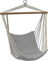 Royokamp  Hamak fotel brazylijski Natura 100x50cm z wszytą poduszką szary