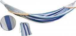Royokamp  Hamak ogrodowy 2 osobowy Luxe XXL 250x150cm niebieski