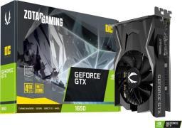 Karta graficzna Zotac GeForce GTX 1650 D6 Gaming OC 4GB GDDR6 (ZT-T16520F-10L)