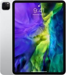 "Tablet Apple iPad Pro 2020 + Cellular 11"" 128 GB 4G LTE Srebrny  (MY2W2FD/A)"