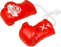 DBX BUSHIDO Zawieszka na lusterko - Rękawice bokserskie  ARK-100081 Czerwone