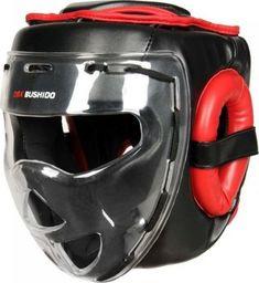 DBX BUSHIDO Kask bokserski sparingowy z maską poliwęglanową  ARH-2180 M