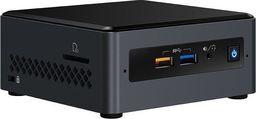 Komputer Intel MiniPC BOXNUC7CJYSAL J4005 2xDDR4/SO-DIMM USB3 BOX -BOXNUC7CJYSAL