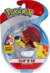 Pokemon Clip'N'Go Poke Ball - Cyndaquil and Poke Ball