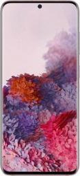 Smartfon Samsung Galaxy S20 5G 128 GB Dual SIM Różowy  (SM-G981BZIDEUB)