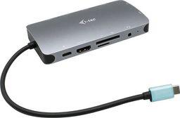 Stacja/replikator I-TEC I-TEC USB-C Metal Nano Dock 1xHDMI 1xVGA 1xSD Cardreader 1xmicroSD Cardreader 1xGLAN 1xAudio/Mic 3xUSB 3.1 1xUSB-C Data 1xUSB-C PD