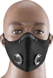 Maska antysmogowa Rock Maska sportowa na rower i do biegania z filtrem KN95