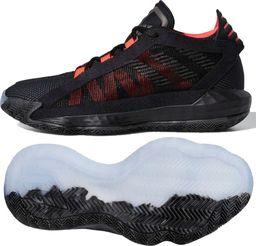 Adidas Buty dziecięce Dame 6 J czarne r. 36 2/3 (EH2791)