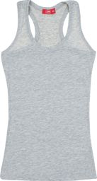 TXM TXM Bluzka dziewczęca na ramiączkach 152 SZARY MELANŻOWY