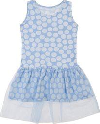 TXM TXM Sukienka niemowlęca na grubych ramiączkach 98 JASNY NIEBIESKI
