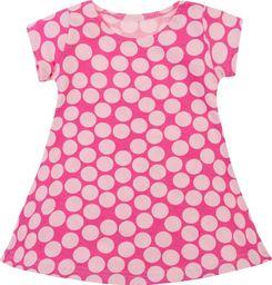 TXM TXM sukienka niemowlęca 80 RÓŻOWY