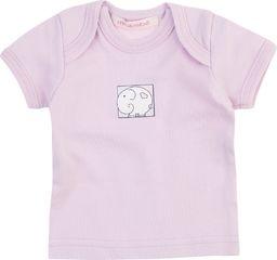 TXM TXM Koszulka niemowlęca z krótkim rękawem 56 RÓŻOWY