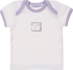 TXM TXM Koszulka niemowlęca z krótkim rękawem 68 BIAŁY