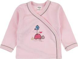 TXM TXM Koszulka niemowlęca zapinana 68 RÓŻOWY