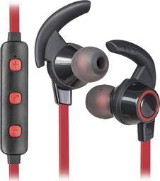 Słuchawki Defender Słuchawki z mikrofonem Defender OUTFIT B725 SPORT Bluetooth douszne czarno-czerwone