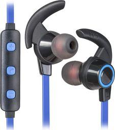 Słuchawki Defender Słuchawki z mikrofonem Defender OUTFIT B725 Bluetooth douszne czarno-niebieskie