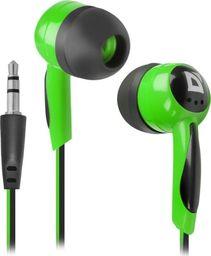 Słuchawki Defender Słuchawki Defender BASIC 604 douszne czarno-zielone