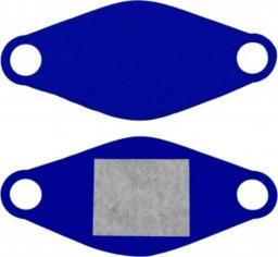 Elmak maseczka ochronna wielorazowa z wymiennym wkładem niebieska (MED-M02)