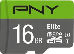 Karta PNY Technologies MicroSDHC Elite 16GB UHS-I (P-SD16GU1100EL-GE)