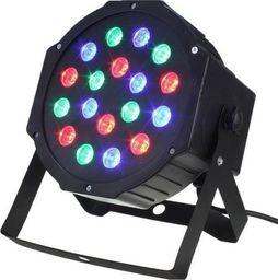eStar ZD64 REFLEKTOR KOLOROFON 18x1W LED DMX PAR STELAŻ uniwersalny