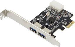 Kontroler Apte PCIe x1 - 2x USB 3.0 (AK249)