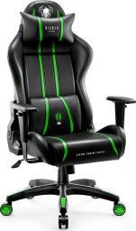 Fotel Diablo Chairs X-ONE 2.0 NORMAL Czarno-zielony