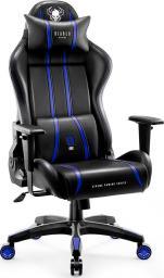 Fotel Diablo Chairs X-ONE 2.0 NORMAL Czarno-niebieski